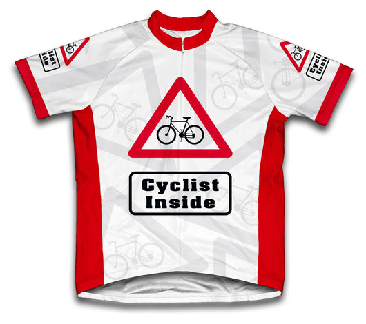 Cyclist Inside Short Sleeve Cycling Jersey for Men and Women