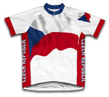 Czech Republic Flag Cycling Jersey for Men and Women