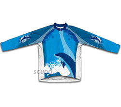 Dancing Dolphins Winter Thermal Cycling Jersey