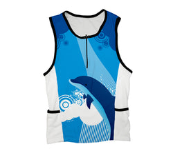 Dancing Dolphins Triathlon Top