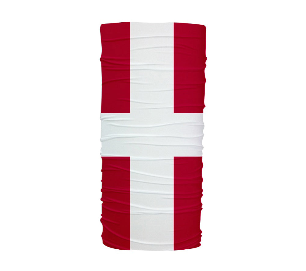 Denmark Flag Multifunctional UV Protection Headband