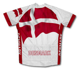 Denmark Flag Cycling Jersey for Men and Women