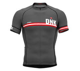 Denmark Gray CODE Short Sleeve Cycling PRO Jersey for Men and WomenDenmark Gray CODE Short Sleeve Cycling PRO Jersey for Men and Women