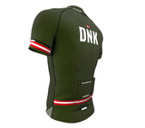 Denmark Green CODE Short Sleeve Cycling PRO Jersey for Men and Women