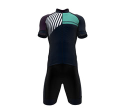 Diagonals Purple Scudopro Cycling Speedsuit for ManDiagonals Purple Scudopro Cycling Speedsuit for Man