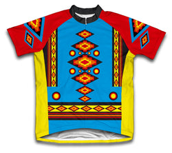 Diamond Patterns Short Sleeve Cycling Jersey for Men and Women