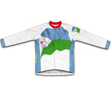 Djibouti Flag Cycling Jersey for Men and Women