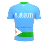 Djibouti  Full Zipper Bike Short Sleeve Cycling Jersey