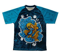 Doitsu Ogon Koi Technical T-Shirt for Men and Women