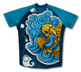 Doitsu Ogon Koi Short Sleeve Cycling Jersey for Men and Women