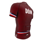 Dominican Republic Vine CODE Short Sleeve Cycling PRO Jersey for Men and Women