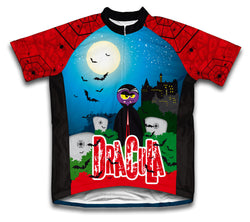 Dracula Short Sleeve Cycling Jersey for Men and Women