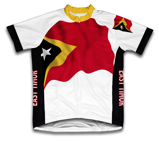 East Timor Flag Cycling Jersey for Men and Women