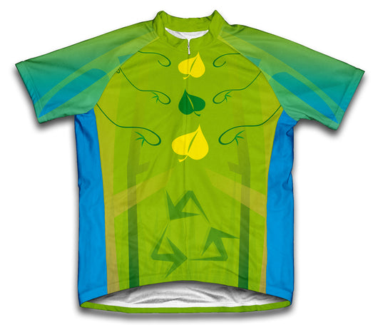 Ecoleaf Short Sleeve Cycling Jersey for Men and Women