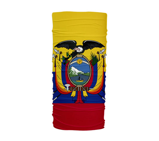 Ecuador Flag Multifunctional UV Protection Headband