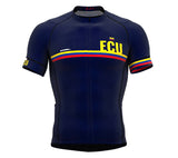 Ecuador Blue CODE Short Sleeve Cycling PRO Jersey for Men and WomenEcuador Blue CODE Short Sleeve Cycling PRO Jersey for Men and Women