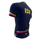 Ecuador Blue CODE Short Sleeve Cycling PRO Jersey for Men and Women