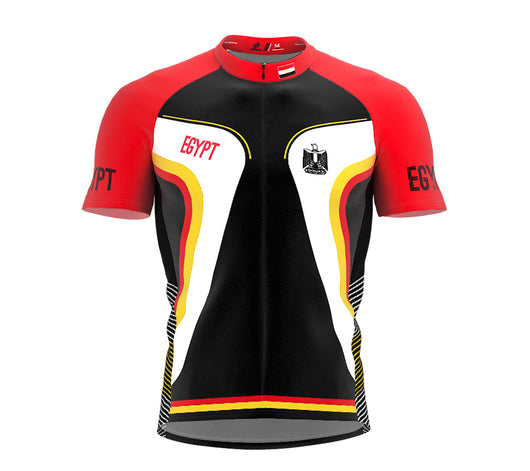 Egypt  Full Zipper Bike Short Sleeve Cycling Jersey
