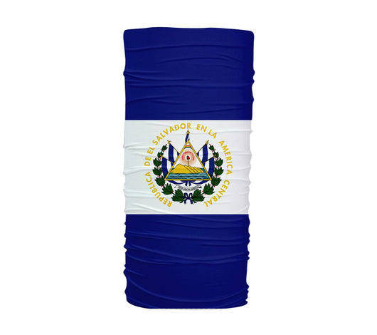 El Salvador Flag Multifunctional UV Protection Headband