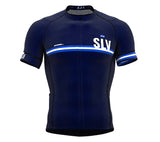 El Salvador Blue CODE Short Sleeve Cycling PRO Jersey for Men and WomenEl Salvador Blue CODE Short Sleeve Cycling PRO Jersey for Men and Women