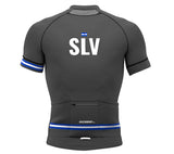 El Salvador Gray CODE Short Sleeve Cycling PRO Jersey for Men and Women