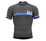 El Salvador Gray CODE Short Sleeve Cycling PRO Jersey for Men and WomenEl Salvador Gray CODE Short Sleeve Cycling PRO Jersey for Men and Women