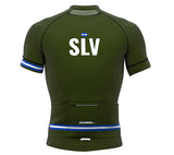 El Salvador Green CODE Short Sleeve Cycling PRO Jersey for Men and Women