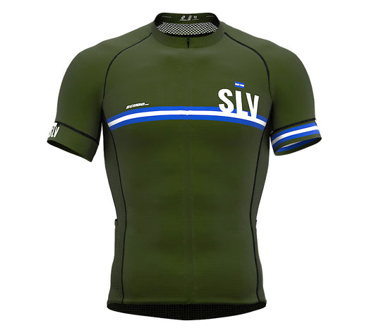 El Salvador Green CODE Short Sleeve Cycling PRO Jersey for Men and WomenEl Salvador Green CODE Short Sleeve Cycling PRO Jersey for Men and Women