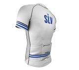 El Salvador White CODE Short Sleeve Cycling PRO Jersey for Men and Women