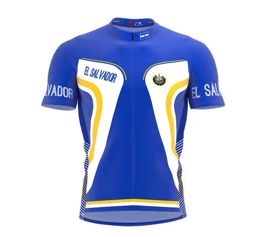 El Salvador  Full Zipper Bike Short Sleeve Cycling Jersey