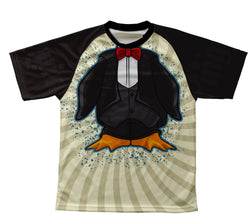 Elegant Penguin Technical T-Shirt for Men and Women