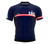 England Blue CODE Short Sleeve Cycling PRO Jersey for Men and WomenEngland Blue CODE Short Sleeve Cycling PRO Jersey for Men and Women