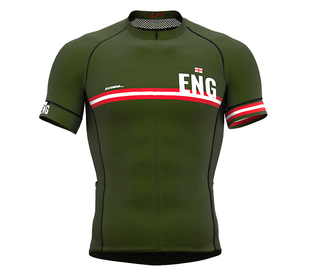 England Green CODE Short Sleeve Cycling PRO Jersey for Men and WomenEngland Green CODE Short Sleeve Cycling PRO Jersey for Men and Women