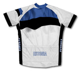 Estonia Flag Cycling Jersey for Men and Women