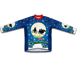 ET Santa Claus Winter Thermal Cycling Jersey