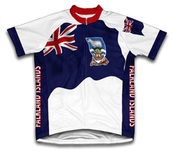 Falkland Islands Flag Cycling Jersey for Men and Women