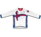 Faroe Islands Flag Cycling Jersey for Men and Women