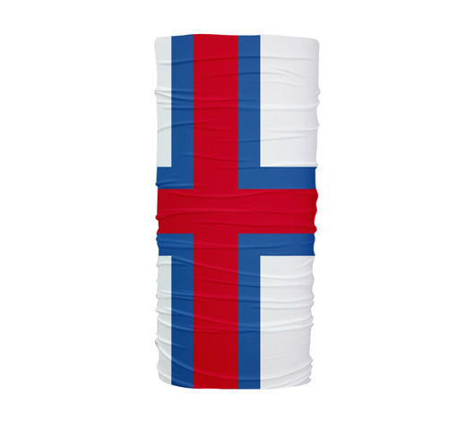 Faroe Islands Flag Multifunctional UV Protection Headband