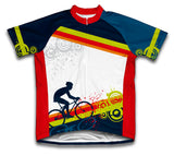 Fearless Biker Short Sleeve Cycling Jersey for Men and Women