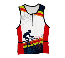 Fearless Biker Triathlon Top