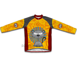 Fearless Feline Winter Thermal Cycling Jersey