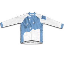 Federated States of Micronesia  Flag Winter Thermal Cycling Jersey