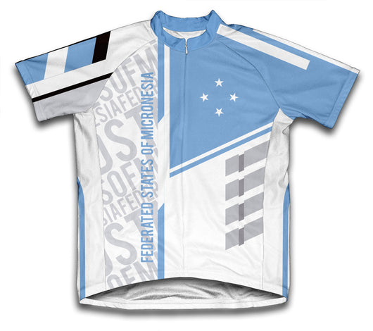 Federated States of Micronesia ScudoPro Cycling Jersey for Men and Women