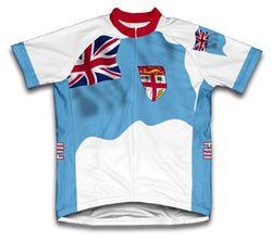 Fiji Flag Cycling Jersey for Men and Women