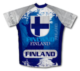 Finland Short Sleeve Cycling Jersey for Men and Women