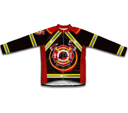 Firefighter Winter Thermal Cycling Jersey