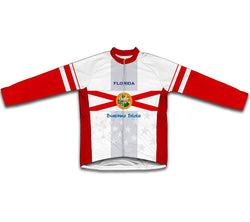 Florida Flag Winter Thermal Cycling Jersey
