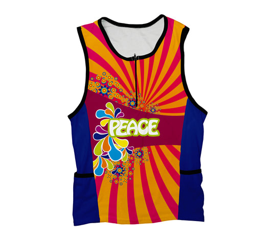 Flowery Peace Triathlon Top