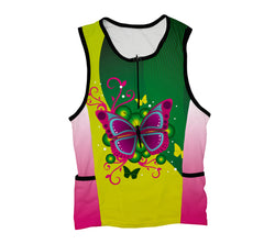 Fluttery Butterfly Triathlon Top