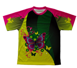Fluttery Butterfly Technical T-Shirt for Men and Women